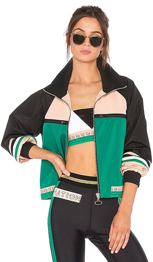 P.E Nation Major League Jacket in Green
