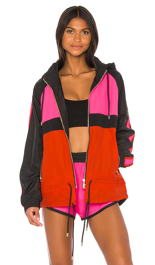P.e Nation Jackets P.E NATION MAN DOWN JACKET IN PINK.