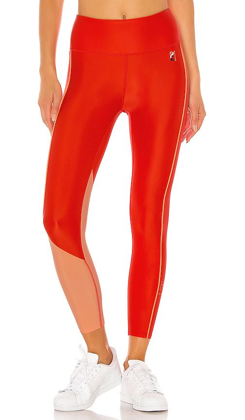 P.E Nation Cutshot Legging in Orange. - size M (also in L,S,XS)
