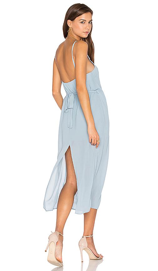 PFEIFFER Lazlo Slip Dress in Blue