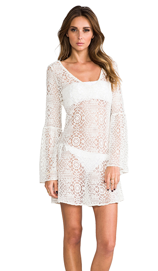 PILYQ Riley Royal Tunic in White