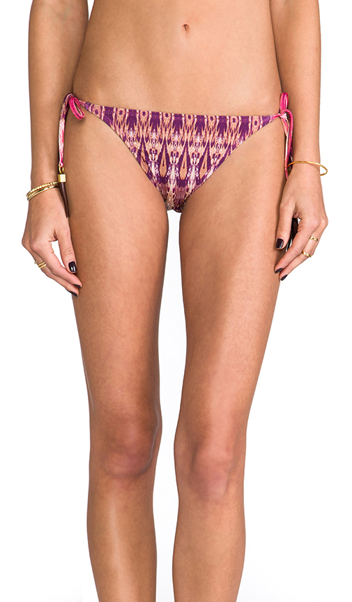 PILYQ Tie Full Tassel Bottom in Pink