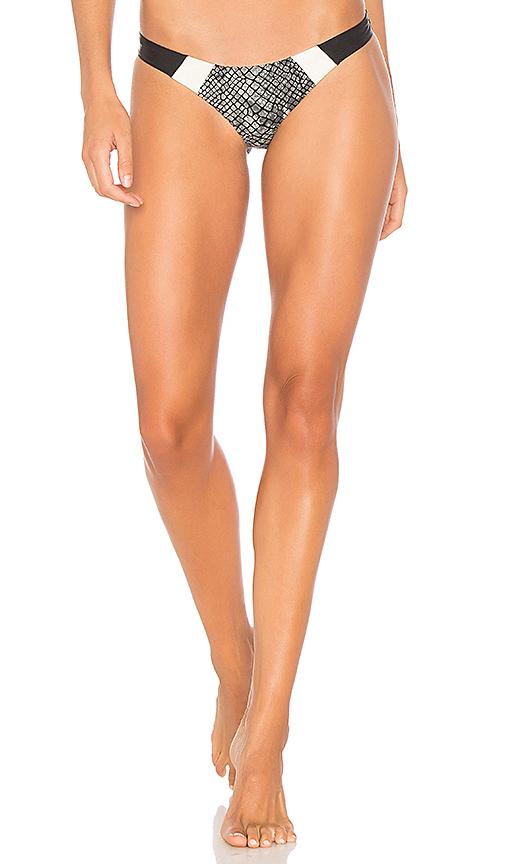 PILYQ Boa Bikini Bottom in Black. - size S (also in L,M)