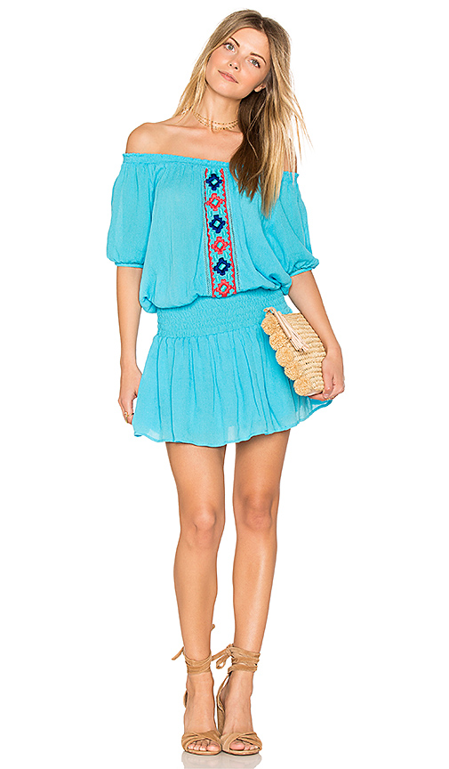 PIPER Brisban Dress in Blue. - size M (also in S,XS)