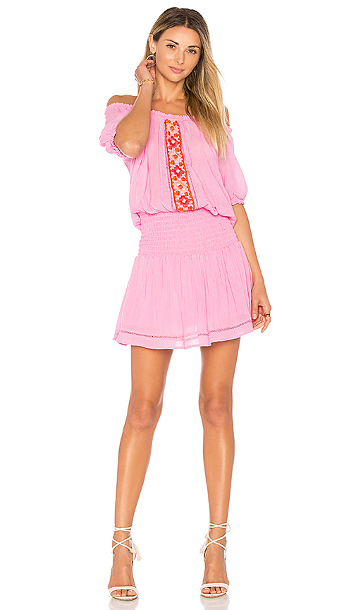 PIPER Brisban Dress in Pink. - size XS (also in M,S)