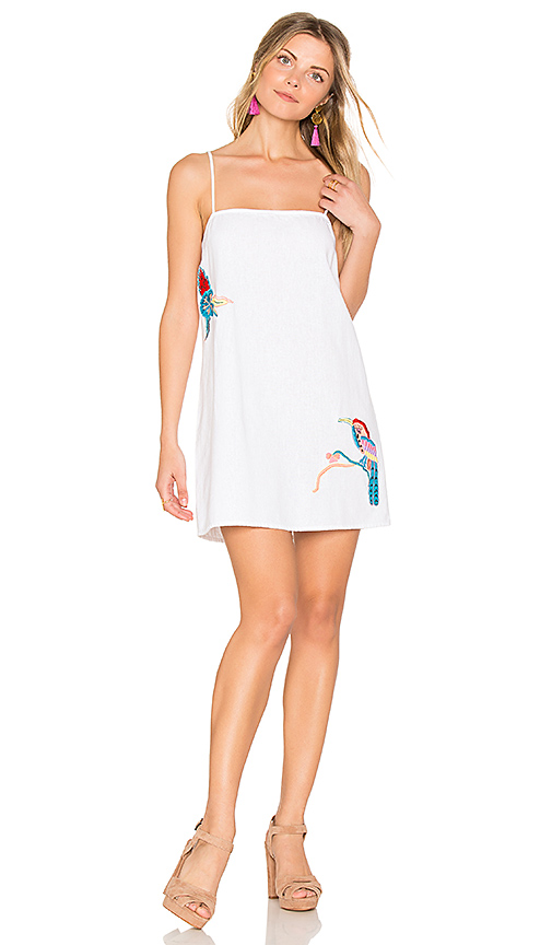 PIPER Cairns Mini Dress in White