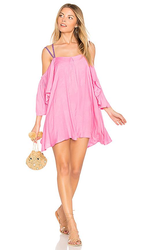 Pitusa Summer Night Dress in Pink