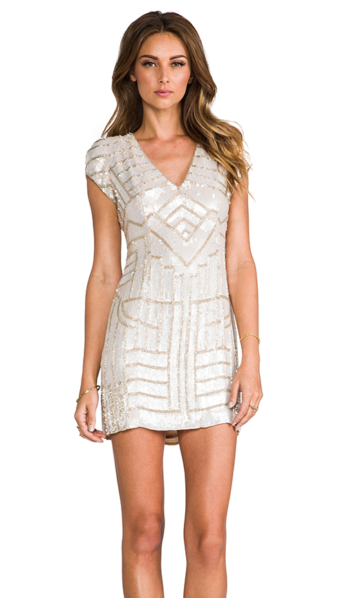 Sale alerts for Parker Sequin Serena Dress - Covvet