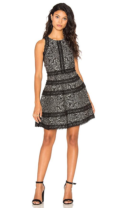 Parker Garnet Dress in Black