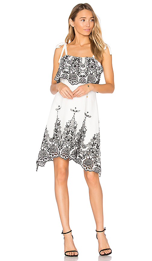 Shop Parker Nia Dress in White online dresses