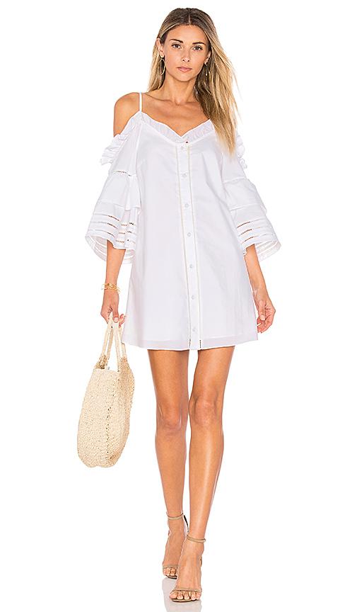 Parker Keegan Dress in White