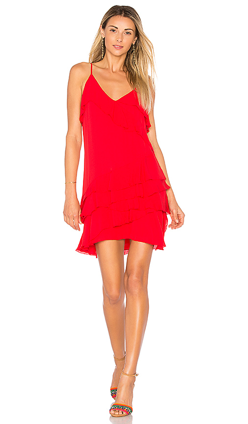 Parker Athens Dress in Red