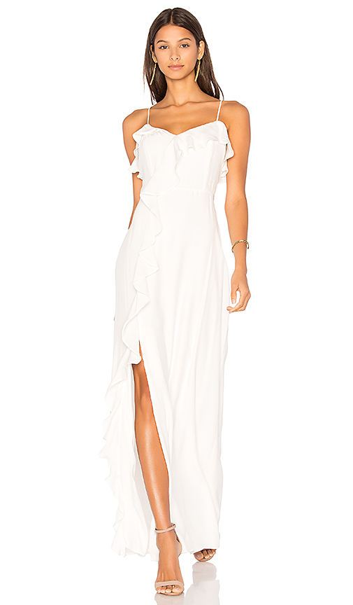 Parker Bellaire Combo Dress in White