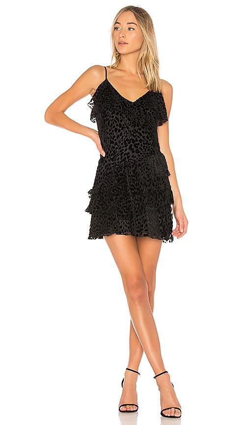 Parker Athens Dress in Black
