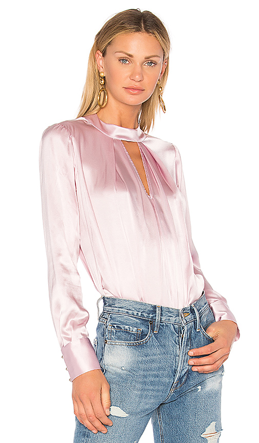 Parker Eleanor Blouse in Pink. - size M (also in S,XS,L)