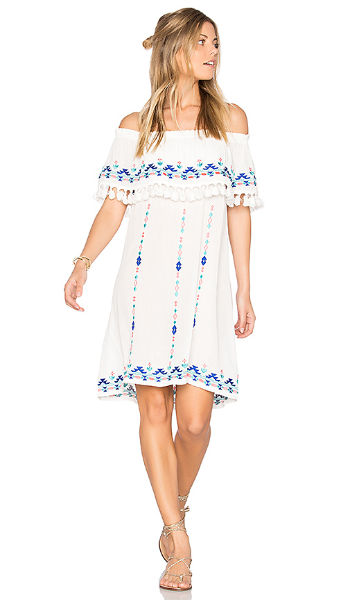 Parker Jeanette Dress in White