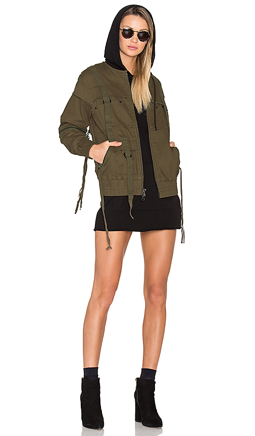 Publish x Revolve Reject Jacket in Olive. - size L (also in M,S,XL)