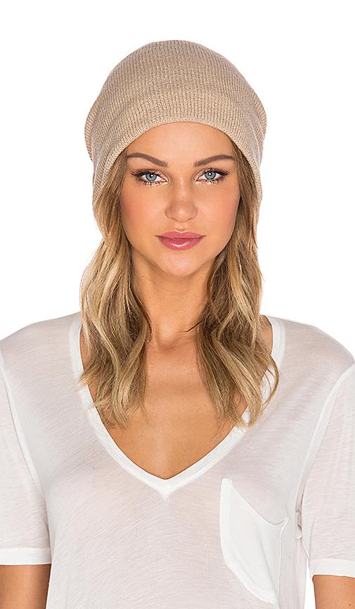 Plush Fleece Lined Barca Hat in Tan.