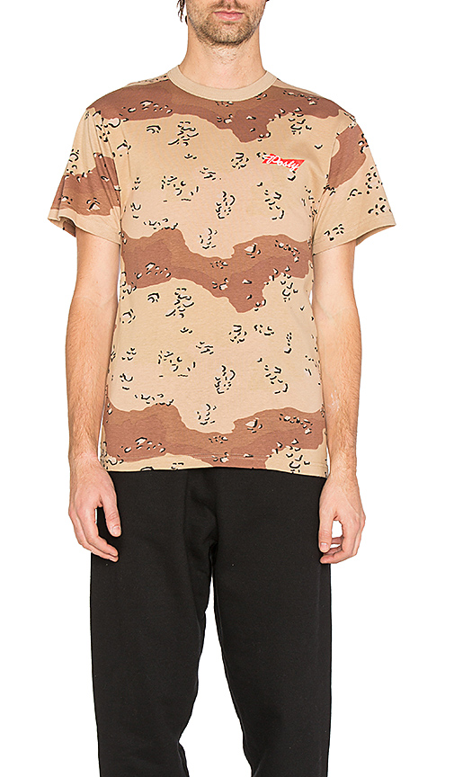 Post Malone Hollywood Dreams Tour Posty Camo Tee in Brown. - size L (also in M,S)