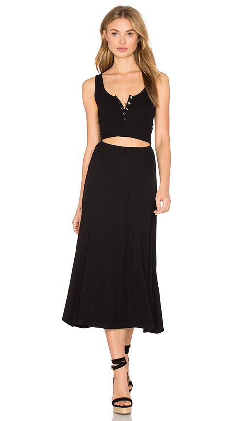Privacy Please Malone Dress in Black