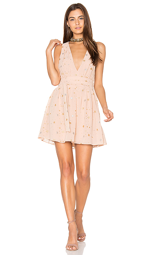 Privacy Please Airy Dress in Blush