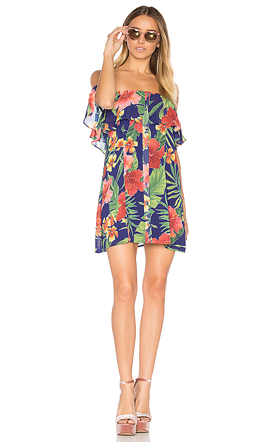 Privacy Please x REVOLVE Norval Dress in Blue