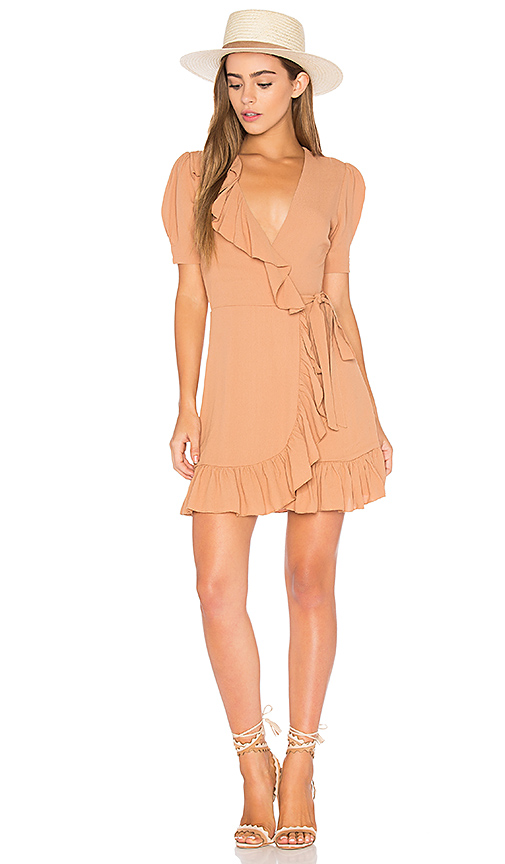 Privacy Please June Dress in Brown