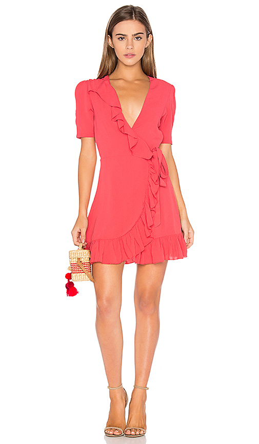 Privacy Please June Dress in Coral