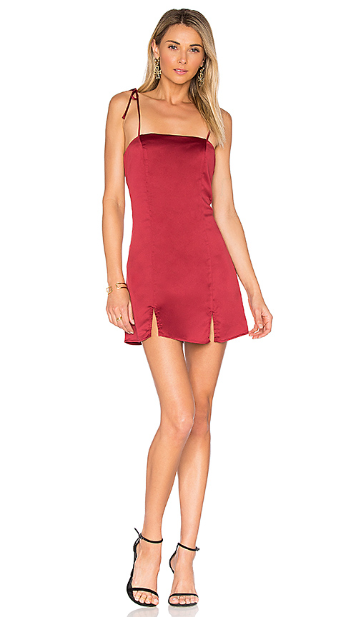 Privacy Please Grover Dress in Burgundy