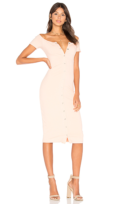Privacy Please Rue Dress in Pink