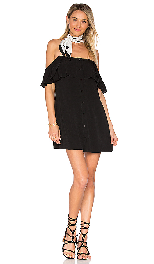 Privacy Please Norval Dress in Black. - size L (also in M,S,XL, XS)