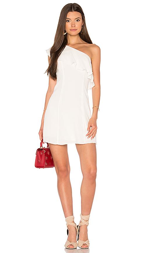 Privacy Please x REVOLVE Tate Dress in White. - size L (also in M,S,XL, XS)
