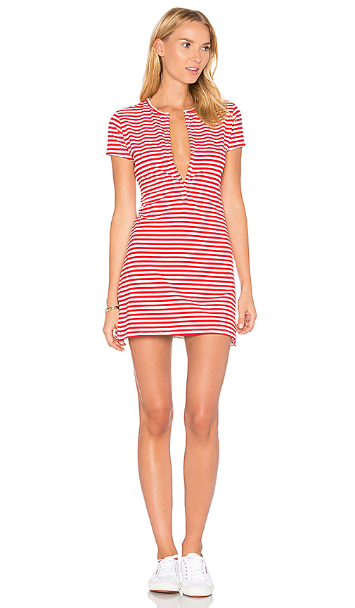 Privacy Please Travers Dress in Red