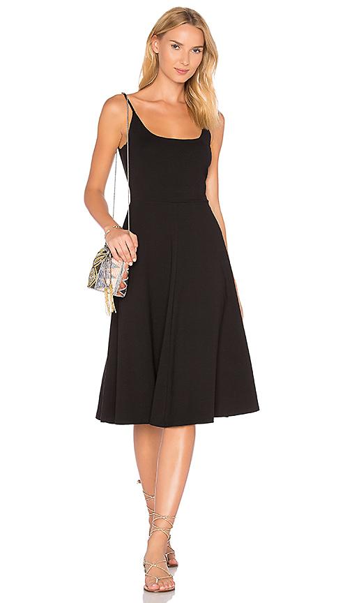 Privacy Please Renner Midi Dress in Black