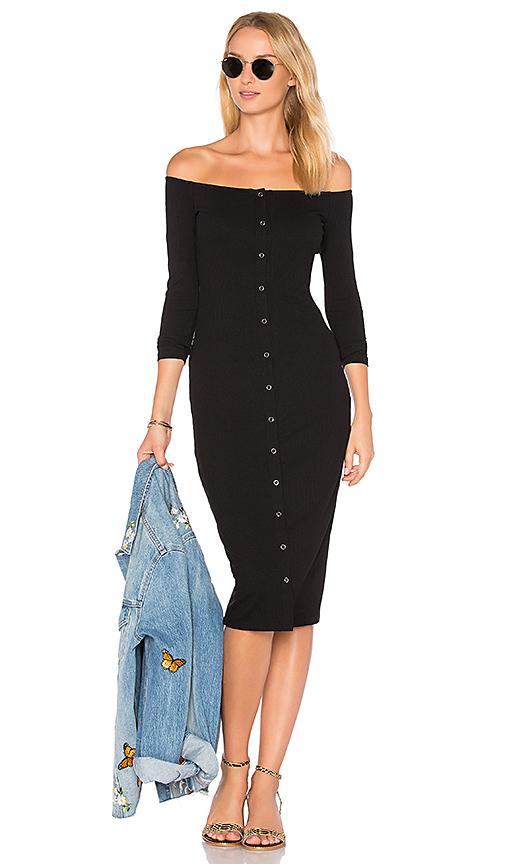 Privacy Please x REVOLVE Anna Dress in Black