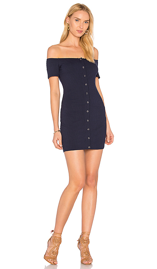Privacy Please Inwood Dress in Navy