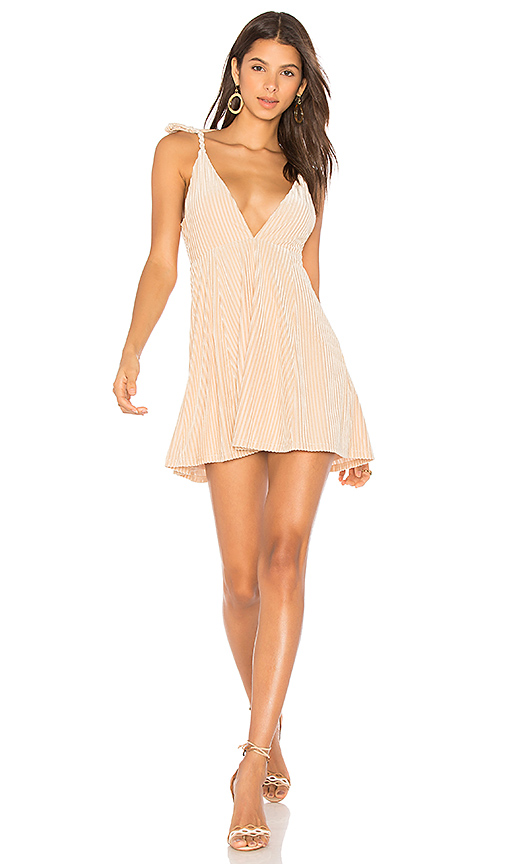 Privacy Please X REVOLVE Iris Dress in Beige
