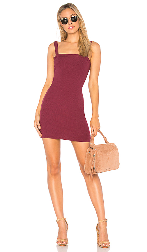 Privacy Please Bradian Dress in Red