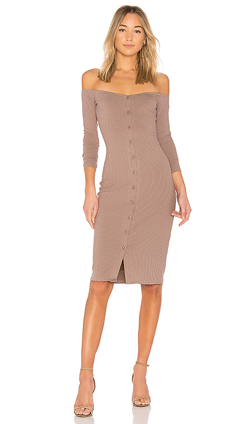 Privacy Please x REVOLVE Albany Maxi in Taupe