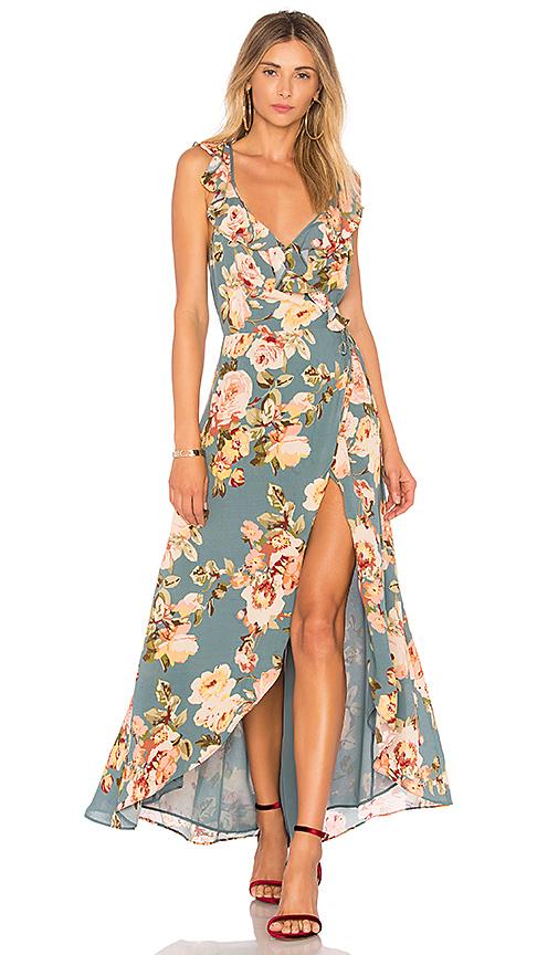 Privacy Please Fillmore Dress in Sage