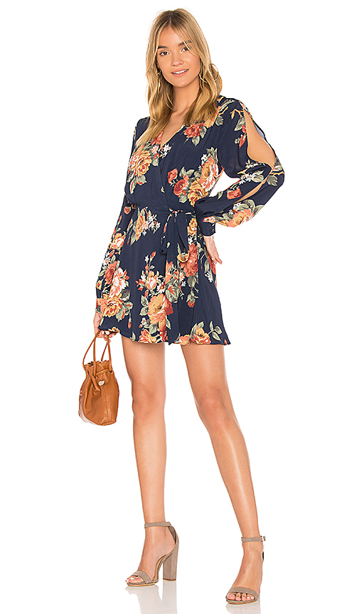 Privacy Please Artesia Mini Dress in Navy