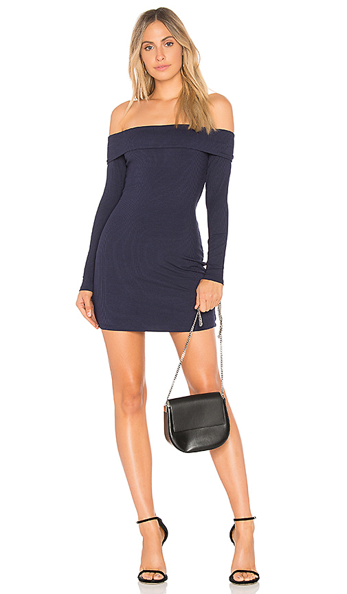 Privacy Please Silas Dress in Navy