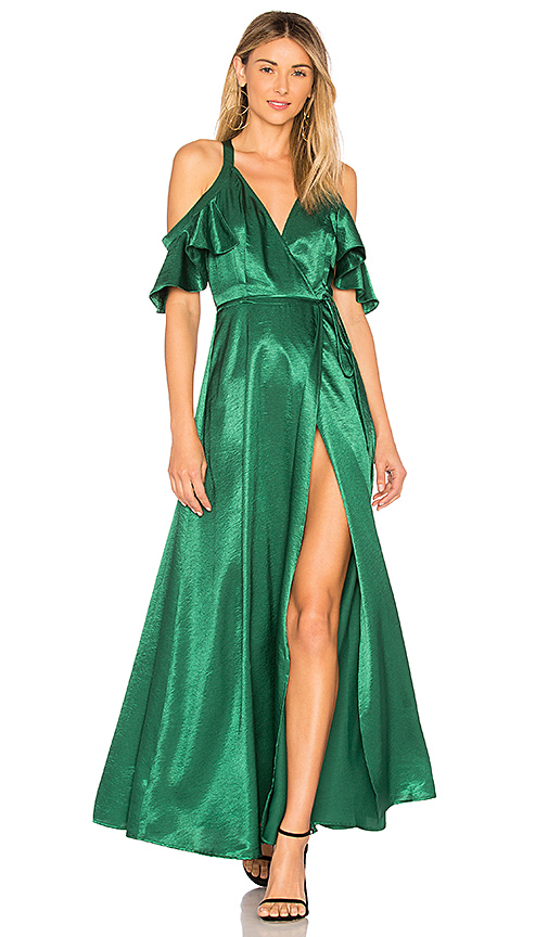 Privacy Please Acme Dress in Green