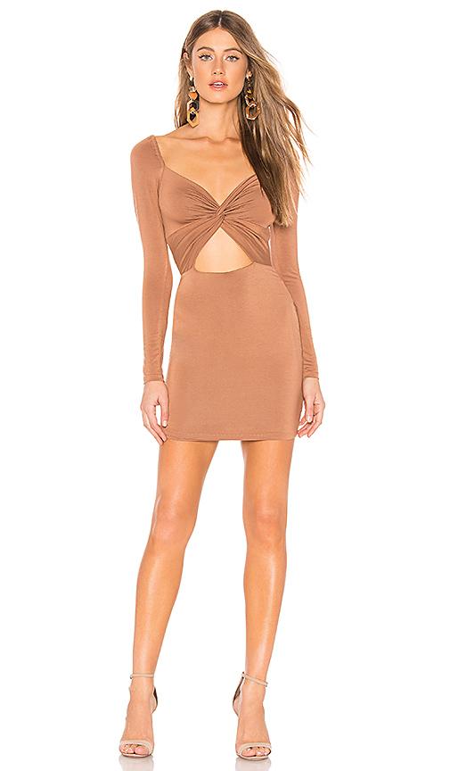 ff3e2edb195b63 Brown PRIVACY PLEASE Adelaide Mini Dress in Tan. - size M (also in L,XL) 12  - 14 (L) on COOLS