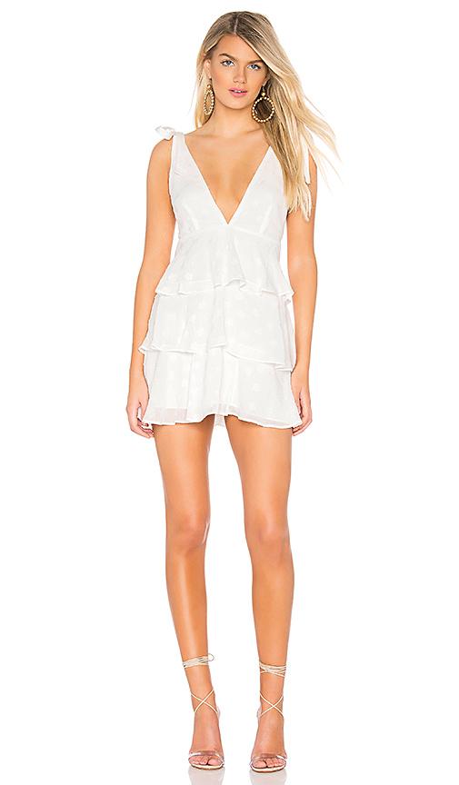 037bbd2f160 Privacy Please Orlando Mini Dress in White