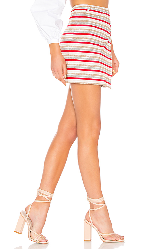 Privacy Please Mossor Skirt in Red