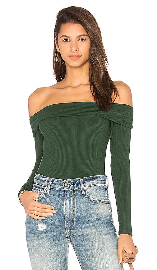Privacy Please Nova Bodysuit in Green