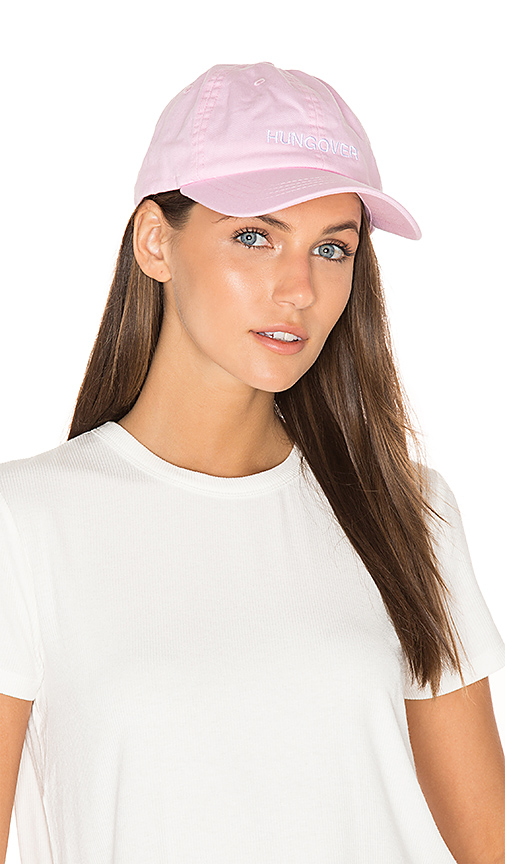 Private Party Hungover Hat in Pink