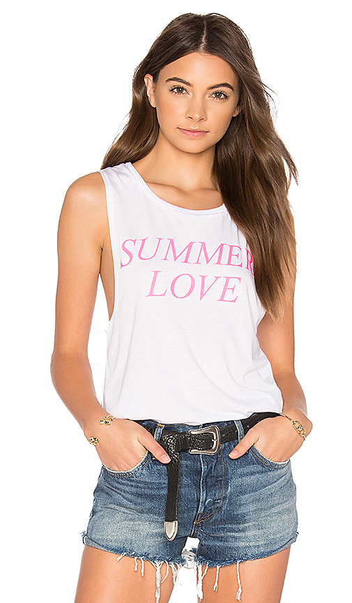 Private Party Summer Love Tank in White