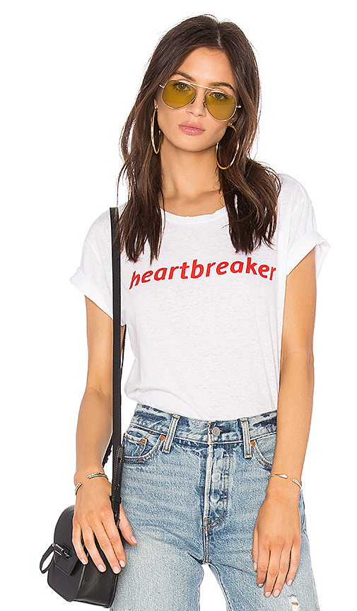 Private Party Heartbreaker Tee in White